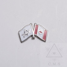 Masonic Flag  lapel Pin