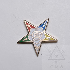 order of the eastern star lapel pin