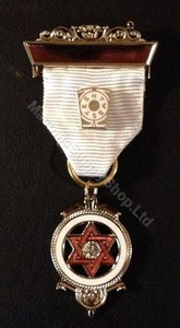 Royal Arch Companion Jewel White