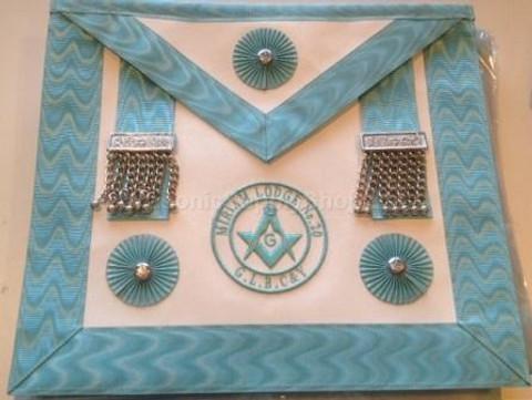 1abd13e2c5 Centennial Master Mason Apron Canadian Logo  Masonic Supply Shop ...
