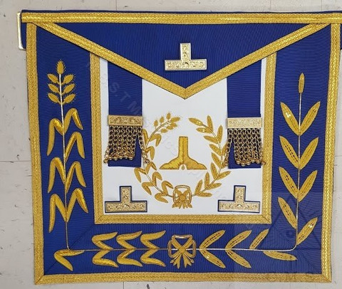 Grand Lodge Officer Dress Aprons  No Fringe