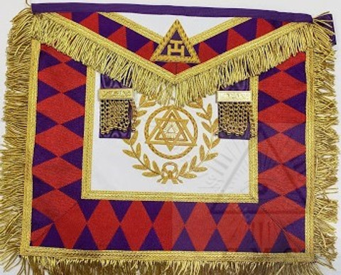 Royal Arch Grand Chapter Apron Grand Superintendent style 2