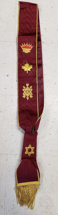Order of the Secret Monitor  Grand Officer Sash