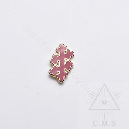 Lapel pin Knight Templar  Perceptor
