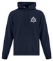 Masonic Hoodie Navy Blue Front
