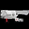 Baccarat Damashiro 17cm Cleaver