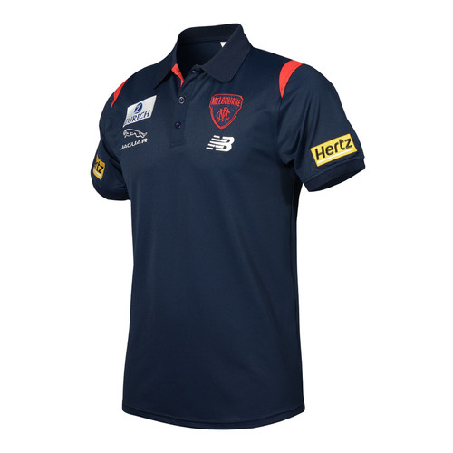 Demons Mens Media Polo 2021
