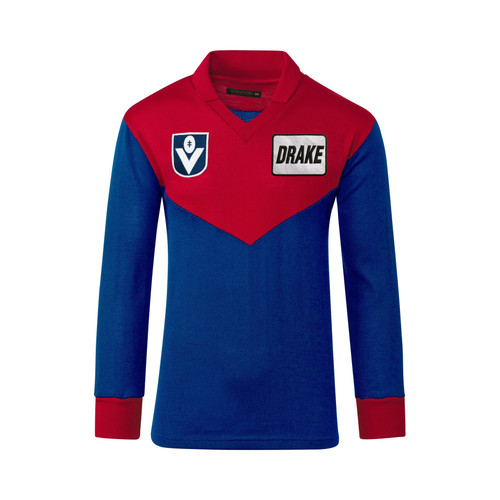 Demons Fibre Of Football Drake Wool Guernsey L/S