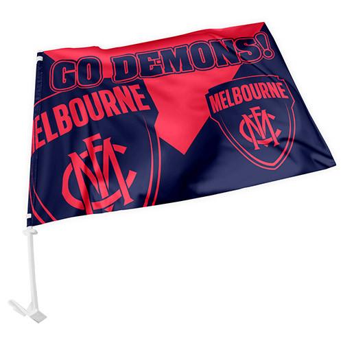 Demons Car Flag