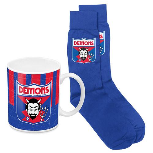 Demons Heritage Mug & Sock Pk