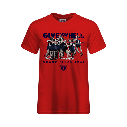 Demons Road To The Grand Final Youth RED EDITION Tee