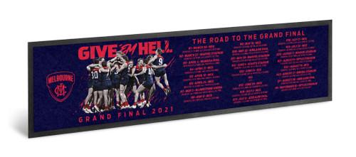 Demons Road To The Grand Final Bar Runner