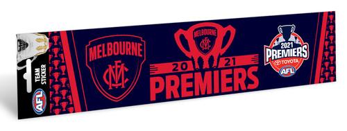 Melbourne Demons Premiers Bumper Sticker