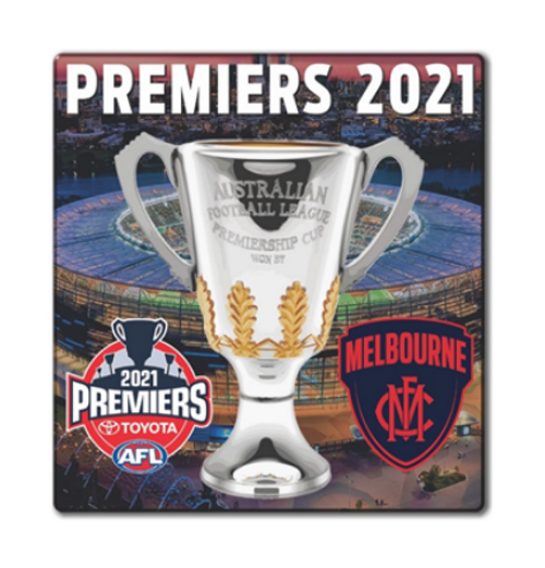 Melbourne Demons Premiers Ceramic Coaster