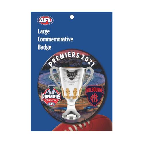Melbourne Demons Premiers Large Badge