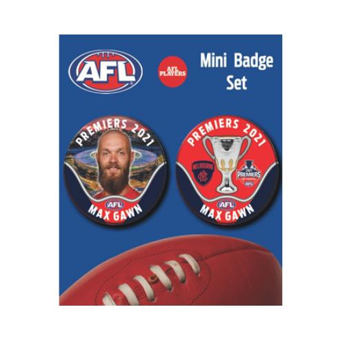 Melbourne Demons Premiers Mini Badge Set