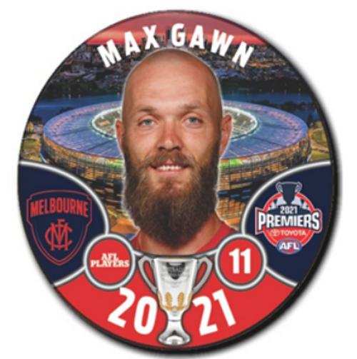 Melbourne Demons Premiers Player Badge
