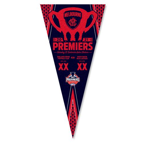 Melbourne Demons Premiers Pennant Score