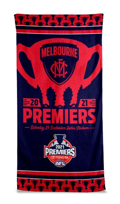 Melbourne Demons Premiers P2 Beach Towel