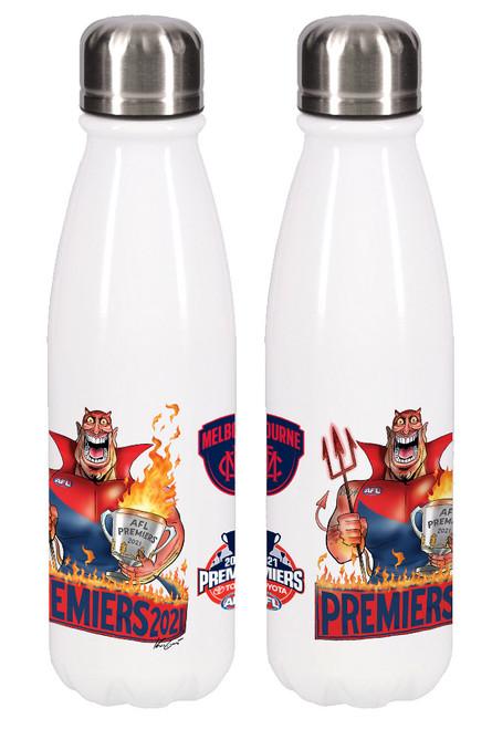 Melbourne Demons Premiers P2 Aluminium Drink Bottle