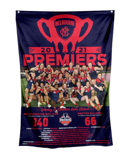 Melbourne Demons Premiers P2 Wall Flag
