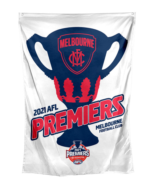 Melbourne Demons Premiers Wall Flag
