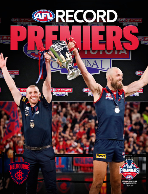 Melbourne Demons Premiers Footy Magazine