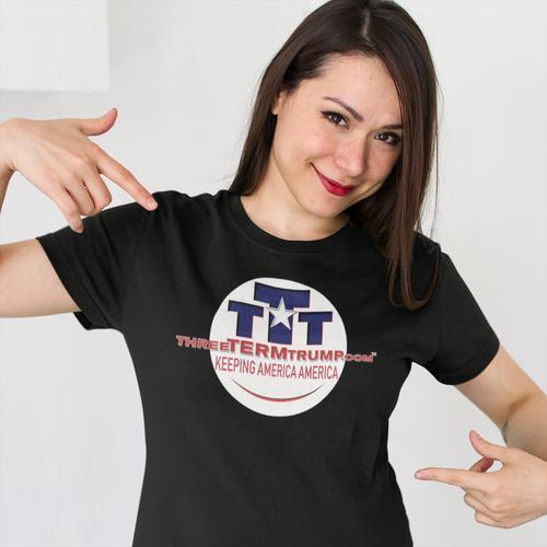 Official Three Term Trump™ Tee Shirt #T-00B-F