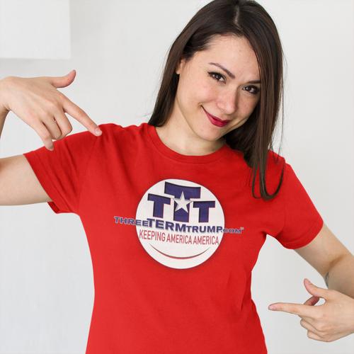 Official Three Term Trump™ Tee Shirt #T-00R-F