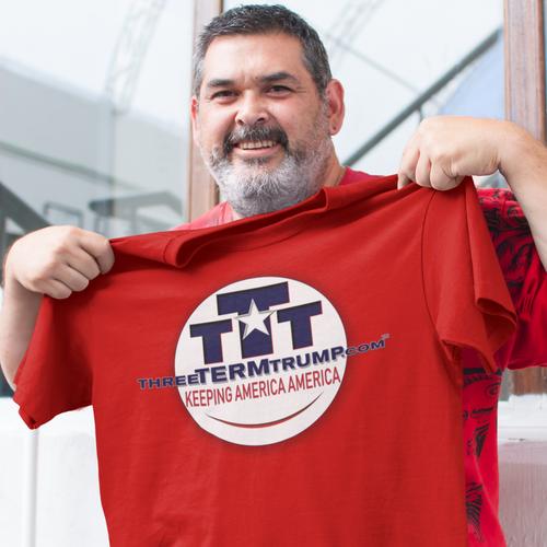 Official Three Term Trump™ Tee Shirt #T-00R-M