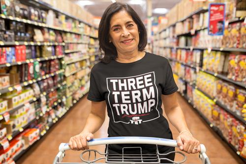 Official Three Term Trump™ Tee Shirt #T-1B-F