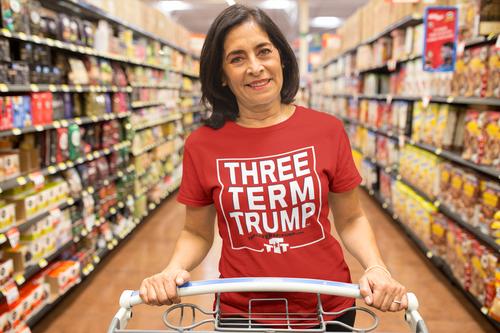Official Three Term Trump™ Tee Shirt #T-1R-F