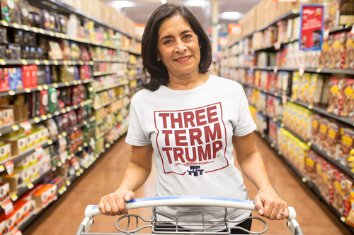 Official Three Term Trump™ Tee Shirt #T-1W-F