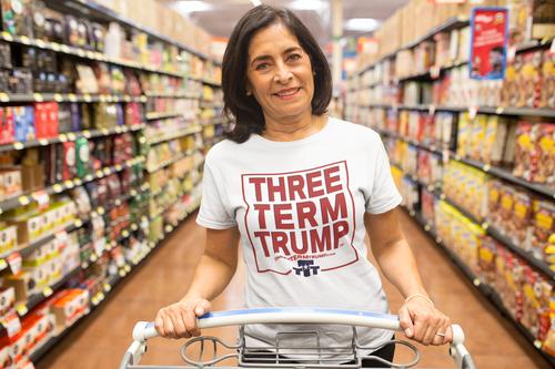 Official Three Term Trump™ Tee Shirt #T-1W-F