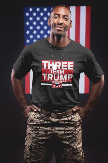 Official Three Term Trump™ Tee Shirt #T-2B-M
