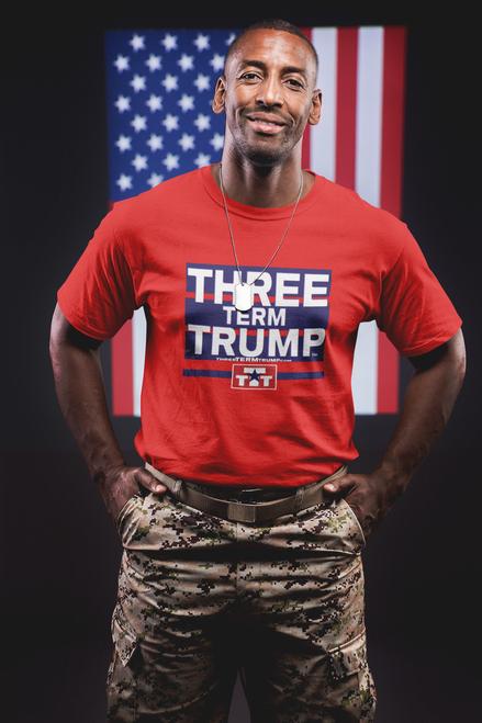 Official Three Term Trump™ Tee Shirt #T-2R-M