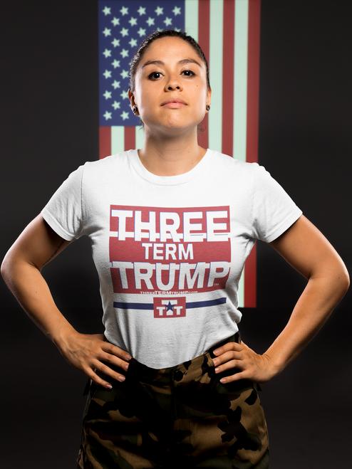 Official Three Term Trump™ Tee Shirt #T-2W-F