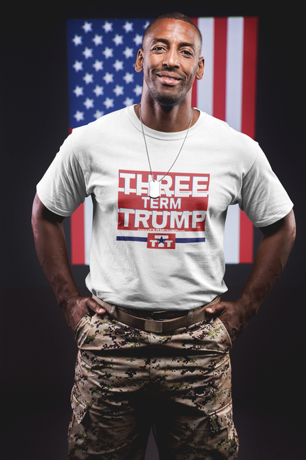 Official Three Term Trump™ Tee Shirt #T-2W-M