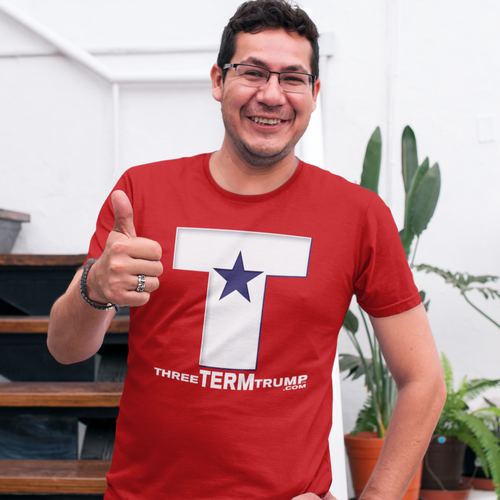 Official Three Term Trump™ Tee Shirt #T-4R-M