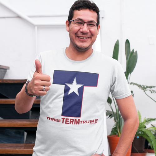 Official Three Term Trump™ Tee Shirt #T-4W-M