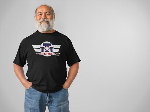 Official Three Term Trump™ Tee Shirt #T-6B-M