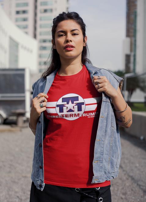Official Three Term Trump™ Tee Shirt #T-6R-F