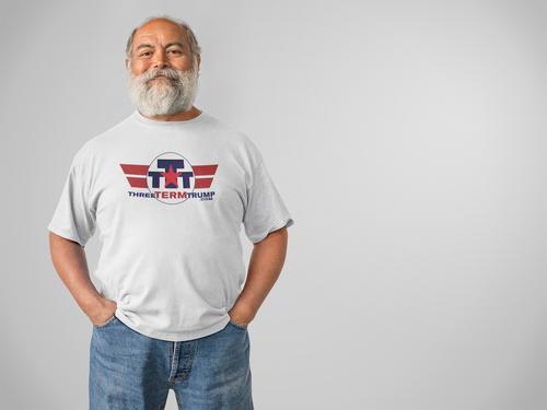 Official Three Term Trump™ Tee Shirt #T-6W-M
