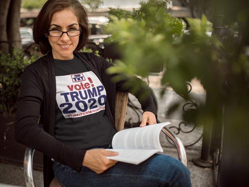 Official Three Term Trump™ Tee Shirt #T-9B-F