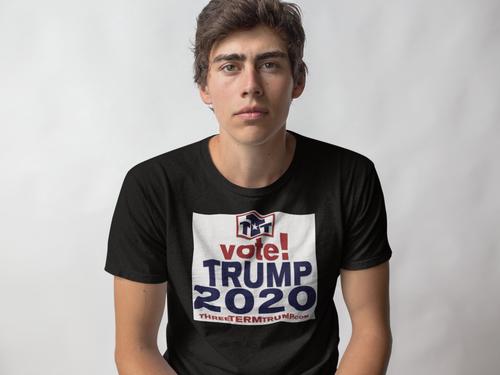 Official Three Term Trump™ Tee Shirt #T-9B-M