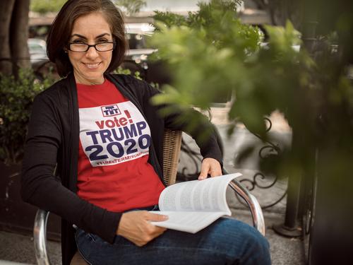 Official Three Term Trump™ Tee Shirt #T-9R-F