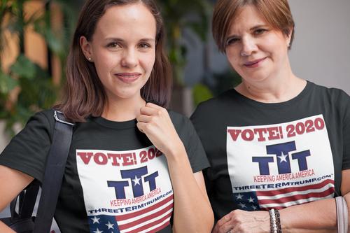 Official Three Term Trump™ Tee Shirt #T-11B-F