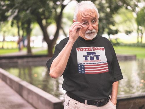 Official Three Term Trump™ Tee Shirt #T-11B-M