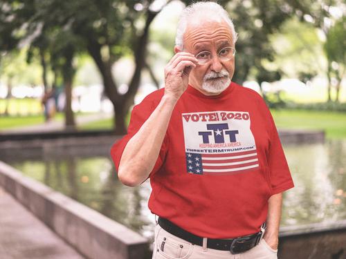 Official Three Term Trump™ Tee Shirt #T-11R-M
