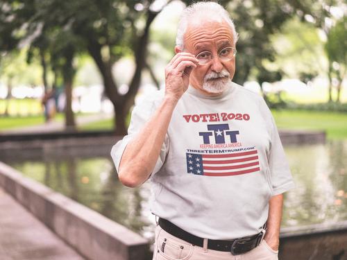 Official Three Term Trump™ Tee Shirt #T-11W-M